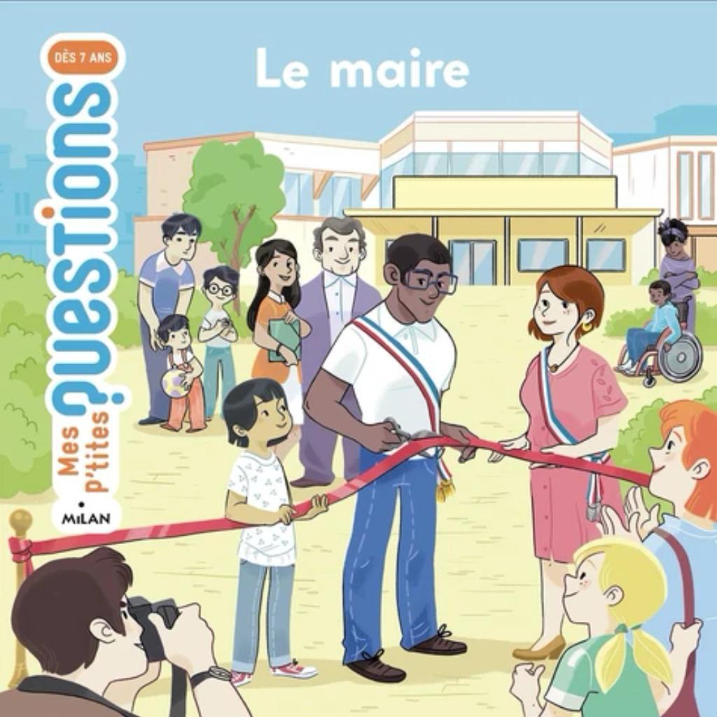 Le maire / Textes de Sandra Laboucarie | Laboucarie, Sandra. Auteur